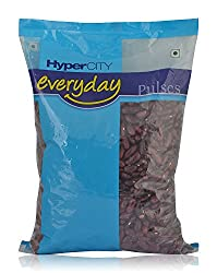 Hypercity Everyday Lentils - Rajma Red, 1kg Pack