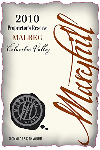 2010 Maryhill Winery Malbec Reserve 750 Ml
