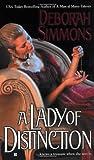 A Lady of Distinction (Berkley Sensation) (0425196569) by Simmons, Deborah