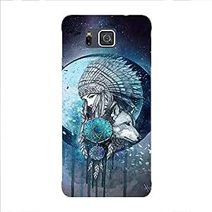 Back cover for Samsung Galaxy Alpha DREAM CATCHER 4