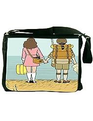 Snoogg Back Pack Computer Padded Compartment Carrying Case Laptop Notebook Shoulder Messenger Bag