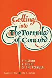 img - for Getting into the Formula of Concord book / textbook / text book