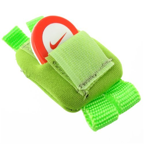 Mivizu Nike,iPod Shoe Lace sensor Pouch for Nike , iPod Sport Kit-Lime