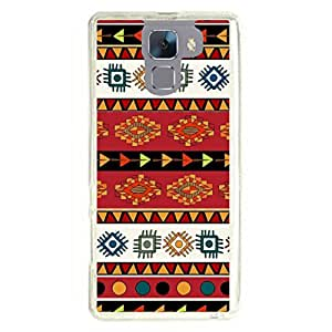 a AND b Designer Printed Mobile Back Cover / Back Case For Huawei Honor 7 (HON_7_2324)