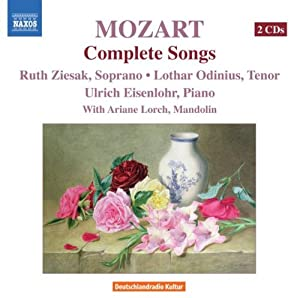 Mozart Complete Songs from Naxos