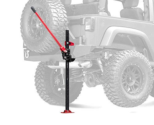 Discover Bargain TYGER 48inch High Lift 7,000Lb (3.5Ton) Ratcheting Farm Jack For Off Road Tractor J...