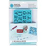 Alphabet : Martha Stewart Martha Stewart Crafter's Clay Silicone Mold 1/Pkg-Alphabet