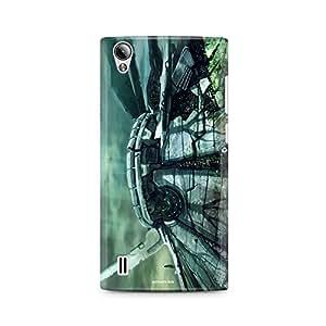 Motivatebox - Vivo Y15 Back Cover - Mystical Tomb Polycarbonate 3D Hard case protective back cover. Premium Quality designer Printed 3D Matte finish hard case back cover.