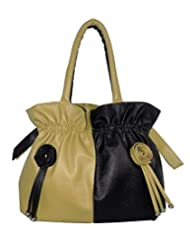 Best Seller Beautiful/Stylish Green And Black Color Women's Handbags. Top/Hot Selling Handbag