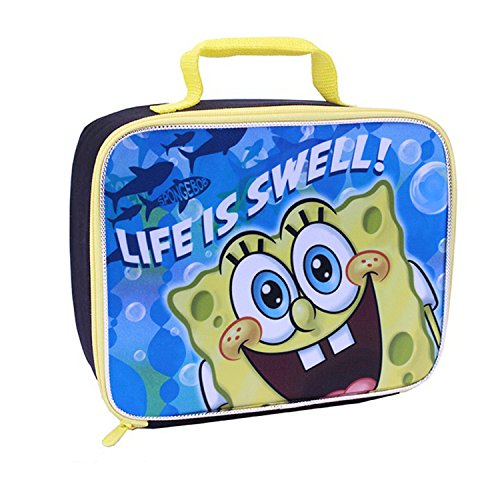 Global Design Concepts SpongeBob Lunch Kit, Blue/Black - 1