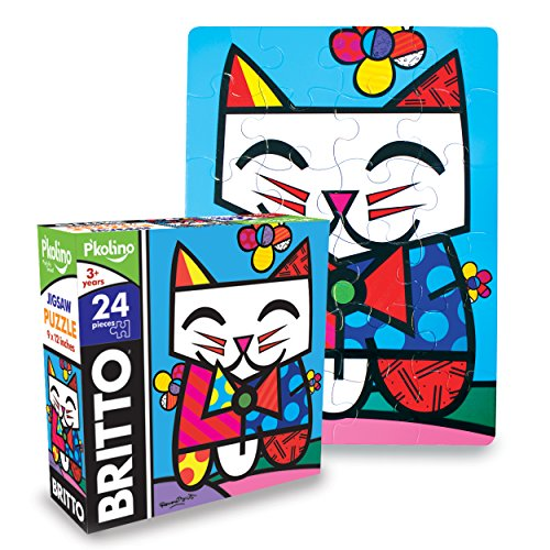 P'Kolino Britto Jigsaw Puzzle - Cat (24-Piece)