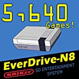 For the Everdrive N8 !!! SD card with over 5,600 games! Ready to Plug and Play!
