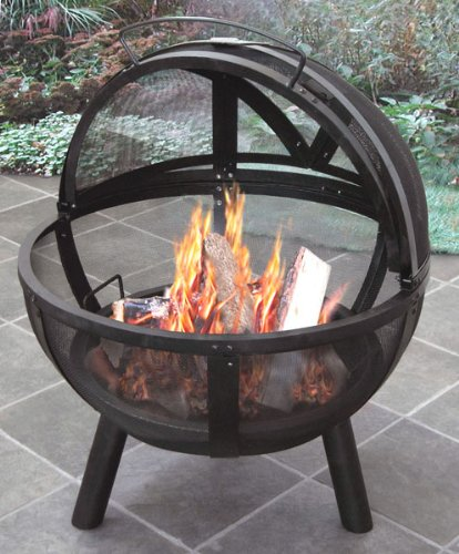 Ball O'Fire Firepit Black