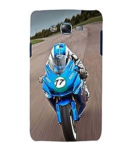 Extreme racing Bike Cute Fashion 3D Hard Polycarbonate Designer Back Case Cover for Samsung Galaxy J7 J700F (2015 OLD MODEL) :: Samsung Galaxy J7 Duos :: Samsung Galaxy J7 J700M J700H