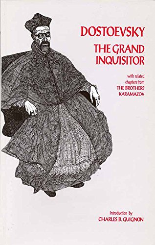 the grand inquisitor dostoevsky essay The parable of the grand inquisitor is told by ivan to alyosha found in the novel, the brothers karamazov by fyodor dostoevsky both ivan and alyosha are brothers.