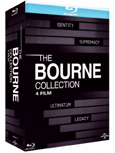 The Bourne collection [Blu-ray] [IT Import]