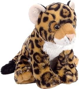 "Amazon.com: Wild Republic Cuddlekin Jaguar 12"" Plush: Toys & Games"
