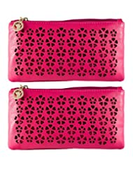 Fleur Wallet | Sling ( Combo Of 2 Slings ) By Heels & Handles (N1246)