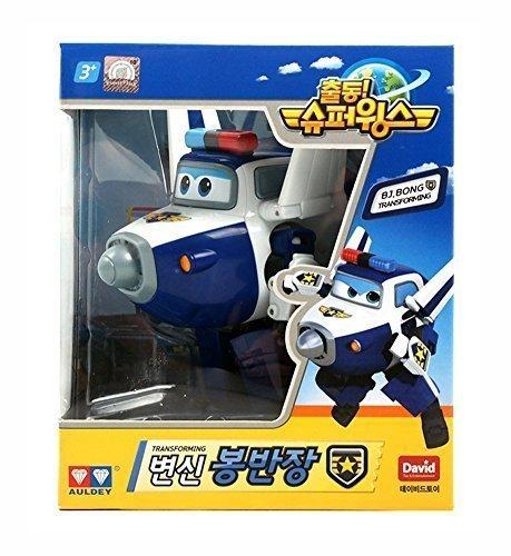 BJ.BONG (PAUL) - Super Wings Trasformare gli aerei animazione serie Nave Personaggio dalla Corea