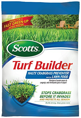 Scotts Turf Builder Halts Crabgrass Preventer with Lawn Food, 5,000-Sq Ft