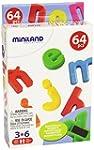 Miniland - Letras magn�ticas min�scul...
