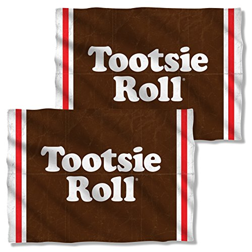 Front & Back Pillow Case: Wrapper Tootsie Roll TR131FBPLO