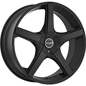 Akuza Axis 20 Flat Black Wheel / Rim 5×115 & 5×120 with a 35mm Offset and a 74.1 Hub Bore. Partnumber 848285055+35FB