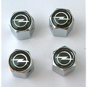 Opel Anti-theft Car Wheel Tire Valve Stem Caps