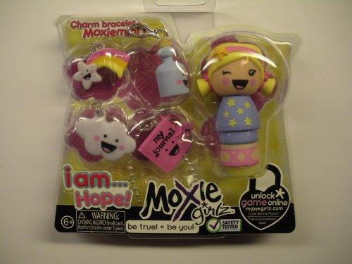 Moxie Girlz Charm Bracelet & Moxiemini - I AM . . . HOPE