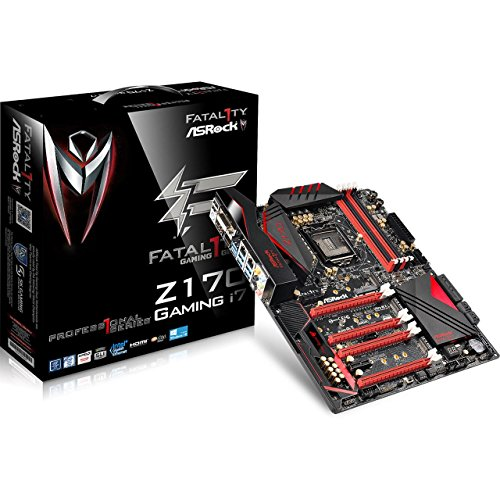 ASRock ATX DDR4 LGA 1151 Motherboards FATAL1TY Z170 PROFESSIONAL GAMING I7