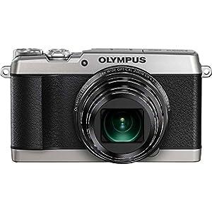 Olympus SH-1 16 MP Digital Camera (Silver)