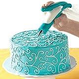 サクララ(Sakulala) アイシング ケーキ チョコレート デコレーションツール お菓子つくり 製菓道具 ペストリーのヒント クリーム絞り出し器 糖衣装飾 カップケーキクッキー