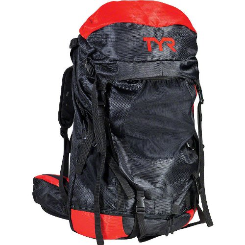 B004GA346W TYR Elite Convoy Transition Bag: Black/Red