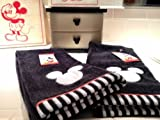 Mickey Mouse Embroidered Hand Towel