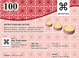 One Stop Shop Set of 100 Unscented Tealights Candles
