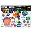 Monkey Business Sports Space Chips Learn and Explore Large Set (288 Pieces)