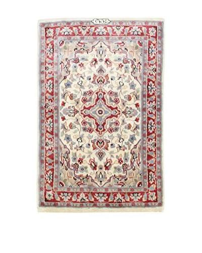 ZZ-L'Eden del Tappeto Teppich Kashmirian F/Seta mehrfarbig 62 x 92 cm