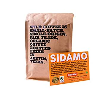 Wild Coffee Whole Bean Organic Coffee Sidamo Medium Roast