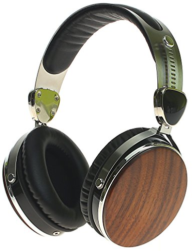 Symphonized Wraith Premium Genuine Wood Headphones with Mic