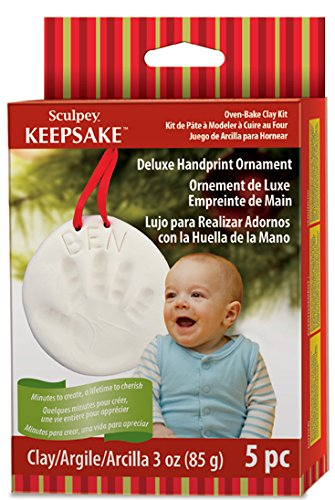 Polyform Sculpey Keepsake Handprint Ornament Kit - 1