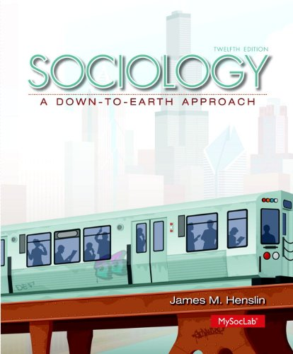 PDF Free Sociology A Down To Earth Approach 12th Edition