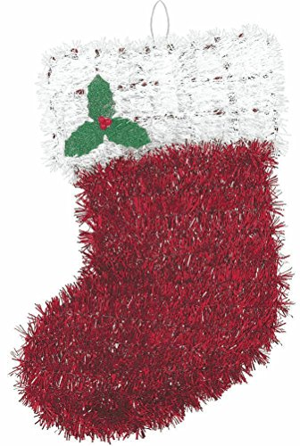 Amscan Stocking Hanging Tinsel Decoration - 1ct.
