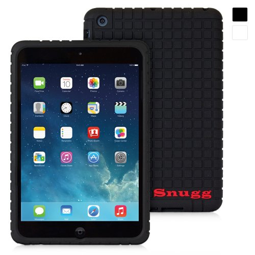 Snugg iPad Mini & iPad Mini 2 Silicone Case in Black - Non-Slip Material, Protective and Soft to Touch for the Apple iPad Mini & iPad Mini 2 at Amazon.com