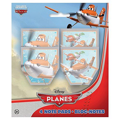 [Disney Planes Notepad Party Favors, 4ct] (El Chupacabra Planes Costume)