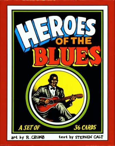 Heroes of the Blues Boxed Trading Card Set by R. Crumb (R Crumb Blues compare prices)