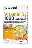 Tetesept Vitamin D3 1000 hochdosiert Tabletten 30er