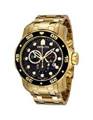 Invicta 0072 Collection Chronograph Gold Plated