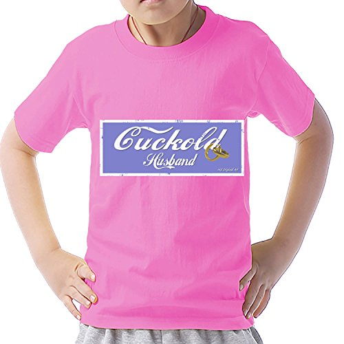 Unbranded products Cuckold husband logo short sleeve burn T shirt S azalea