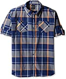 Akademiks Mens Big and Tall Wooster Woven Shirt