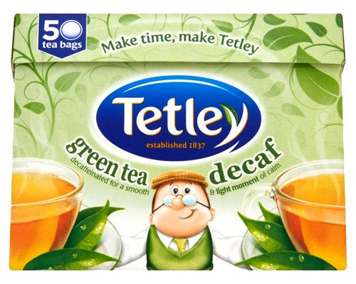 Tetley Decaff Pure Green Tea 50
